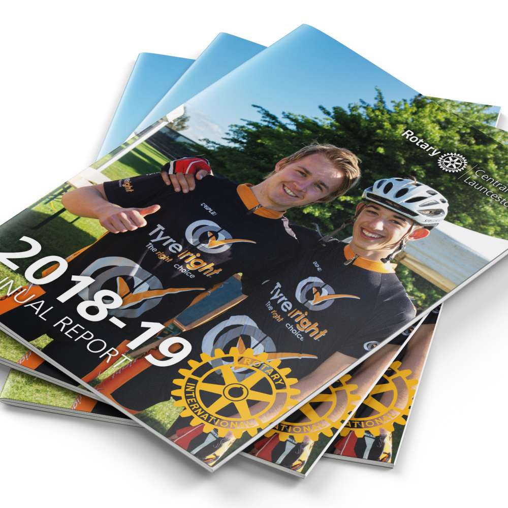 A4 Rotary Annual Report 2