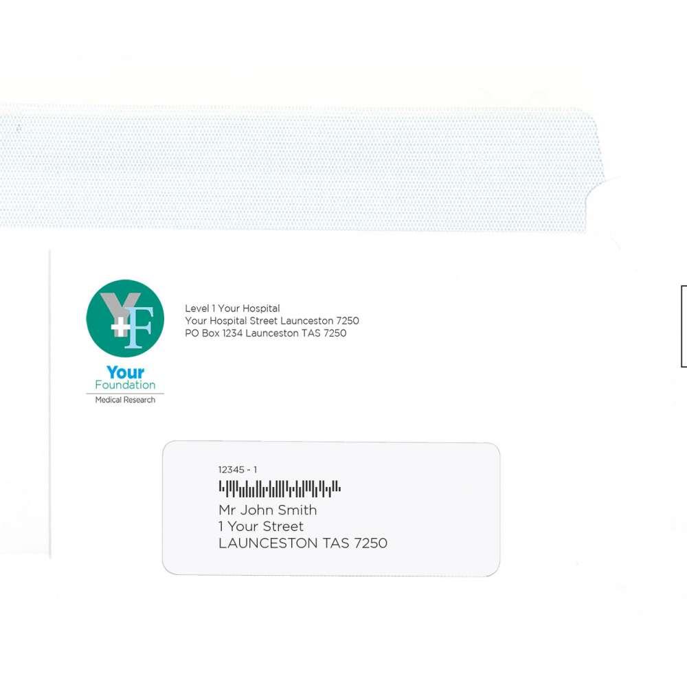 Sample Envelope letter